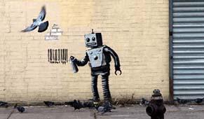 street art banksy verabschiedet sich aus new york. Black Bedroom Furniture Sets. Home Design Ideas