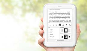 nook Glowlight eBook Reader neu Barnes & Noble