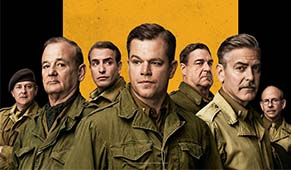 The Monuments Men Kino Filmstart George Clooney Matt Damon Bill Murray John Goodman Jean Dujardin
